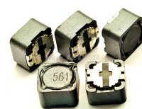 50 unids/lote blindado inductor 12*12*7 560UH Inductores de potencia SMD de impresión 561 CD127