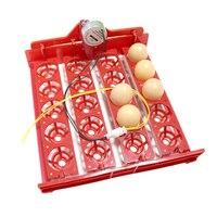 20 계란 회전 트레이 인큐베이터 닭 오리 및 기타 가금류 인큐베이터 장비 110 v/220 v 4*5 구멍 무료 배송