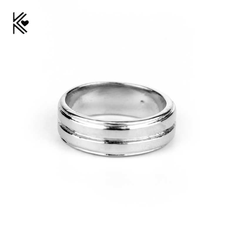 Europe America Movie TV Supernatural Dean Winchester Finger Rings Fashion Silver Plated Metal Men Women Cocktail Ring Wholesale