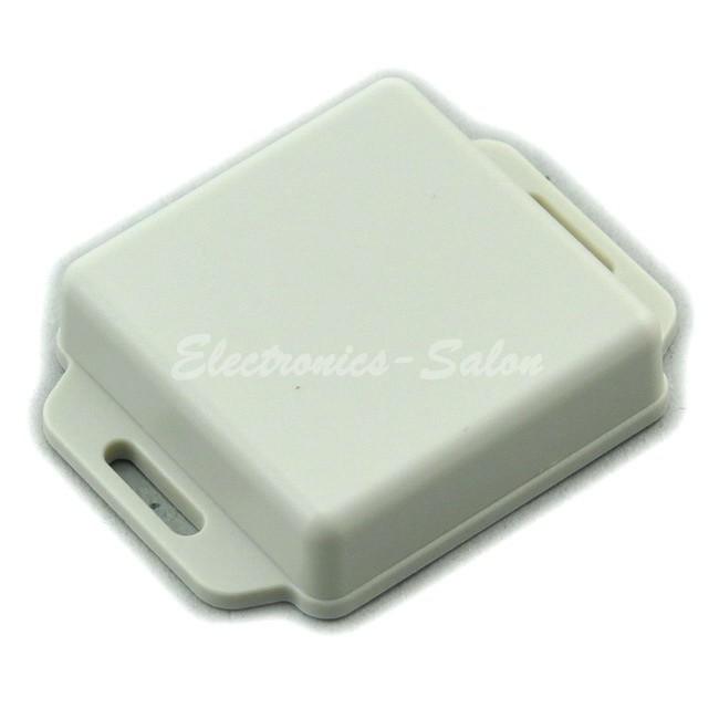 Small Wall-mounting Plastic Enclosure Box Case, White,51x51x15mm, HIGH QUALITY.