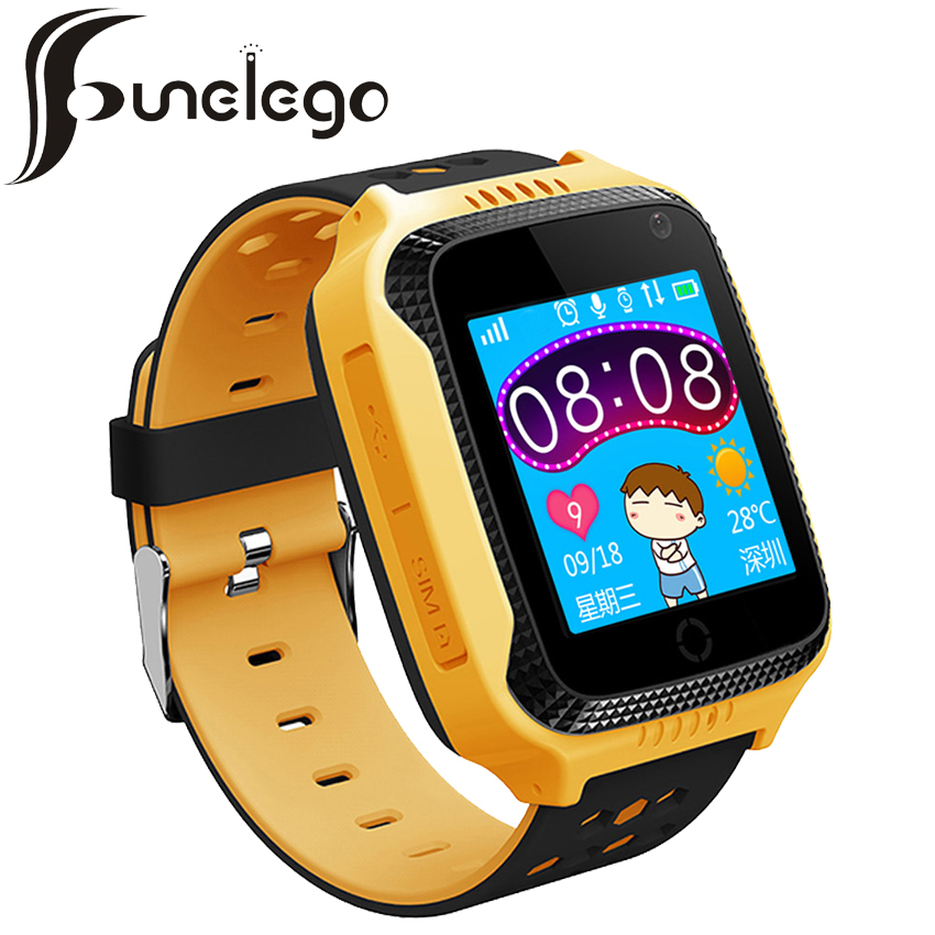 Funelego 2017 New Children <font><b>GPS</b></font> <font><b>Tracker</b></font> Phone Watch Q42 Touch Screen Clocks Wristwatch Support SIM Card Smart Watch For Kids
