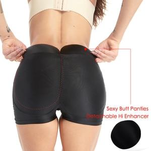 Image 5 - butt lifter waist trainer hip pads Lifting Buttock butt pads padded panties hip enhancer shaper women Modeling Strap body shaper