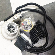 Electric Turbo Supercharger Kit Automatic Speed Regulation High Efficiency and Energy Saving Air Filter Intake Improve Car