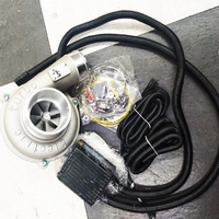 Turbo électrique Kit de suralimentation régulation automatique de la vitesse haute efficacité et économie d'énergie filtre à Air d'admission améliorer la vitesse de la voiture