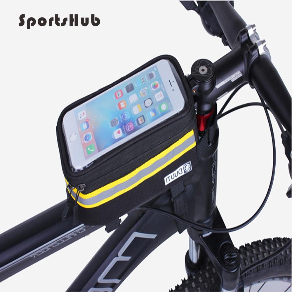 SPORTSHUB Update Rainproof/Reflective Bicycle Cycling Bike Bag Bicycle Saddle Bag Touchable Screen Bicycle Accessories C0005-1