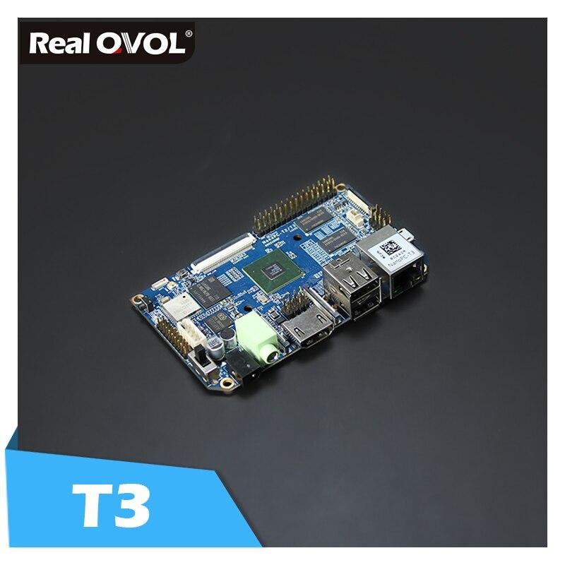 FriendlyARM S5P6818 Octa-Core Cortex-A53 NanoPC-T3(1.4GHz,8GB eMMC,1GB 32bit DDR3 RAM)+Heatsink=NanoPC T3 Standard KIT