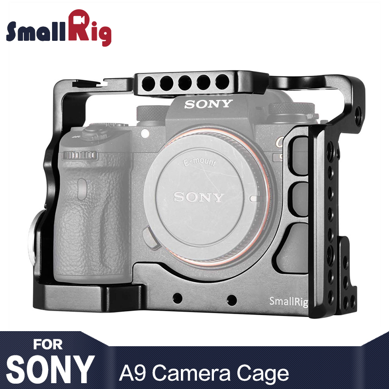 SmallRig A9 Cage for Sony A9 Form Fitting with Nato Rail Cold Shoe Mount Light Weight Camera Kit  2013
