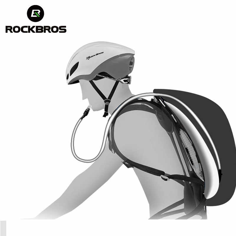ROCKBROS التكتيكية على ظهره دراجة غير نافذ للمطر الرياضة حقائب التخييم في الهواء الطلق السفر التنزه تسلق أكياس تنفس قدرة عالية