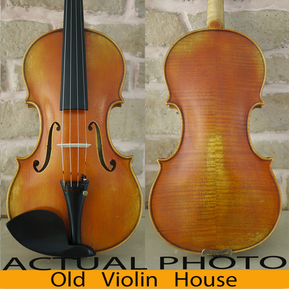 Handmade. Carpathian Spruce Guarneri Del Gesu 1742 Lord Wilton Violin Model . Rich Tone. Antique Violin Oil Varnish, No.2546 master violin identity copy guarneri del gesuthe cannon1743 strong and deep tone free shipping aubert bridge no 3