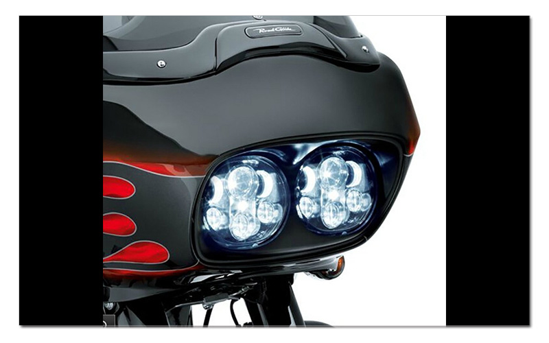 5.75 inch LED Motorcycle Headlight 5-34 Daymaker Projector Dual LED Headlight for Harley Davidson Road Glide 2004-2013 (5)