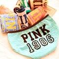 [Quecoo] 2017 Girl Series Cotton 1986PINK Striped Cute Underwear Panties Women