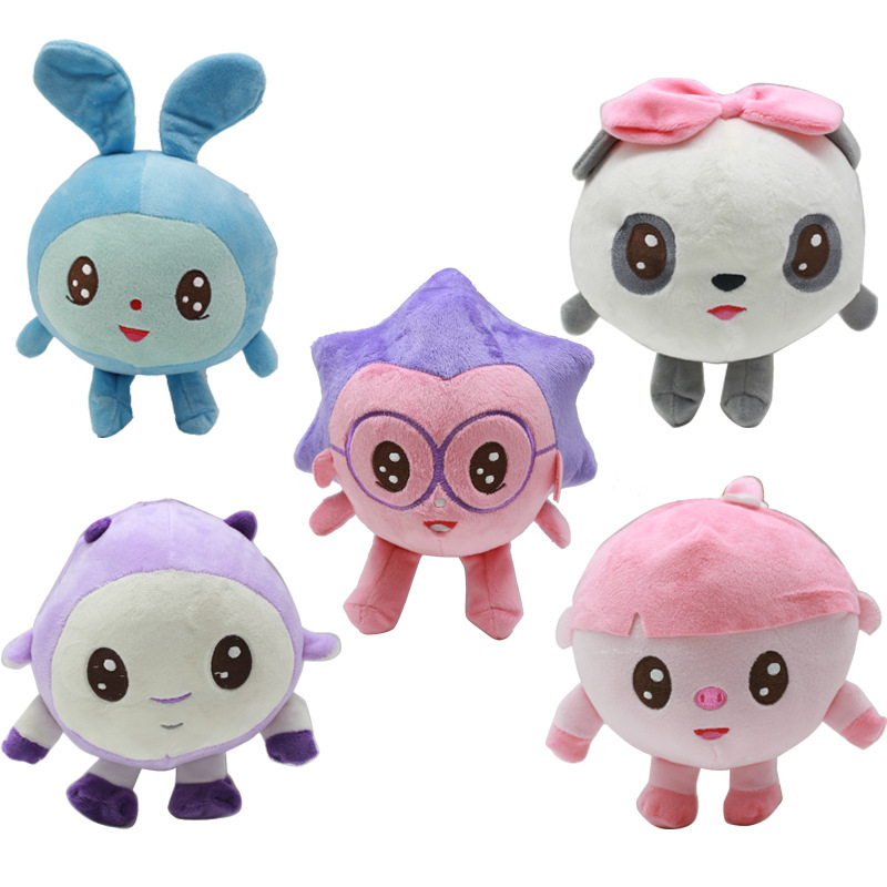 5pcs/lot 20cm Russia Gogoriki Kikoriki BabyRiki Stuffed Animals Plush Doll Children's plush toy gifts Support Dropshipping