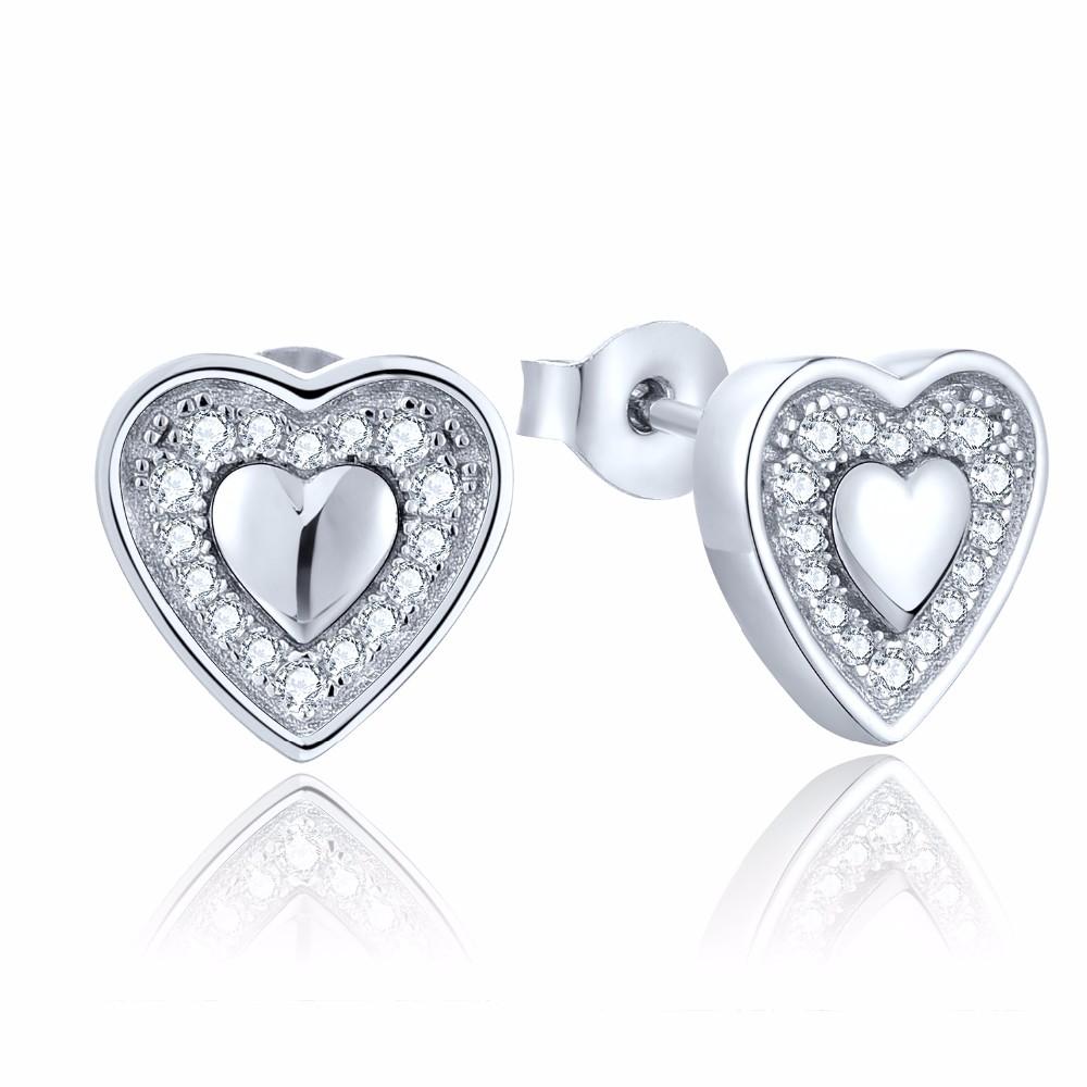wholesale silver jewelry heart DE24620A (1)