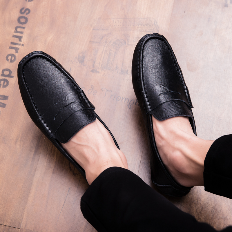 Men Loafers Shoes outdoor Italy Oxfords Business Dress Boat Shoes Formal Oxford Men Flat Shoes Wedding party shoes p4 44