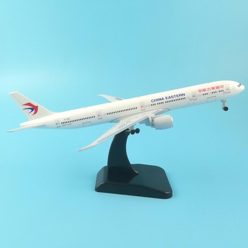 JASON TUTU Plane Model Airplane Model China Eastern Boeing 777 Aircraft Model 1:200 Diecast Metal 20cm Airplanes Plane Toy Gift