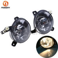 POSSBAY Front Fog Light Halogen Foglamps for Audi A6/S6/Avant Quattro 2009 2010 2011 12V 35W Car Lights for Audi Q5 2009 2016