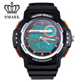 SMAEL Brand Watches for Men Sport Wristwatch Dual Time Display Clock Men LED Digital Watch relogios masculino reloj hombreWS1503