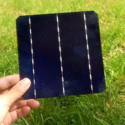 50 шт. пласа-де-видео солнечные панели ячейки для DIY солнечное зарядное устройство Soalr клеток 3 бары и DIY 4 Вт 0.5 В панели солнечных батарей 156 * 156