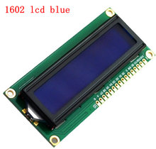 3.3V 5V 1602 16x2 LCD Display Module HD44780 drive Geel of blauw scherm IIC adapter voor SPI of paraller 51 STM MCU UNO project(China)
