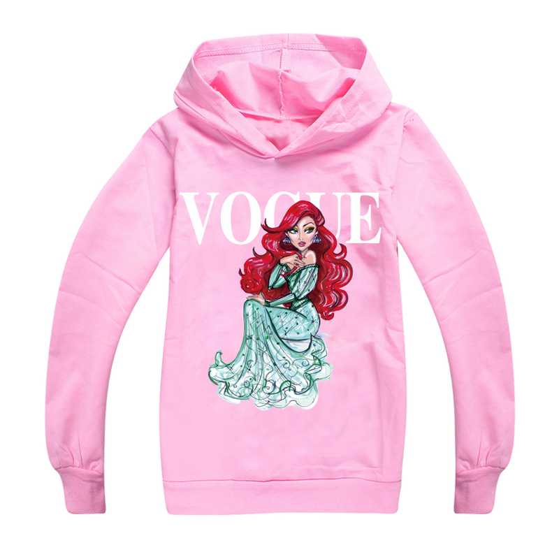 Baby Girl Cute Black Hoodies with Pink Tassel White Unicorn Print Tee Tops Clothes