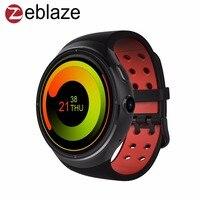 Zeblaze ת 'ור 3 גרם שעון חכם 1.4 inch Super AMOLED 400*400 קורנינג גורילה Glass3 1 GB 16 GB GPS טלפון Smartwatch