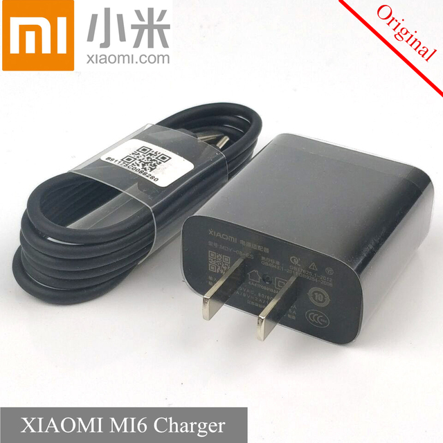 Original Xiaomi Mi Mix 2 Fast Charger Qc 3 0 Quick Charge Usb Travel Adapter Type C Cable For