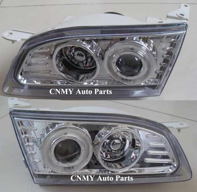 Angel Eyes Projector Lens Headlamps For 1995 2000 Toyota Corolla Ae110 Series