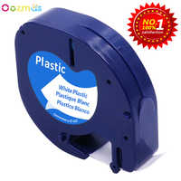 Kompatibel für DYMO LetraTag Band 18771 12267 91200 91201 92102 91203 91204 91205 für DYMO Label Maker Schreibmaschine LT-100H 12mm