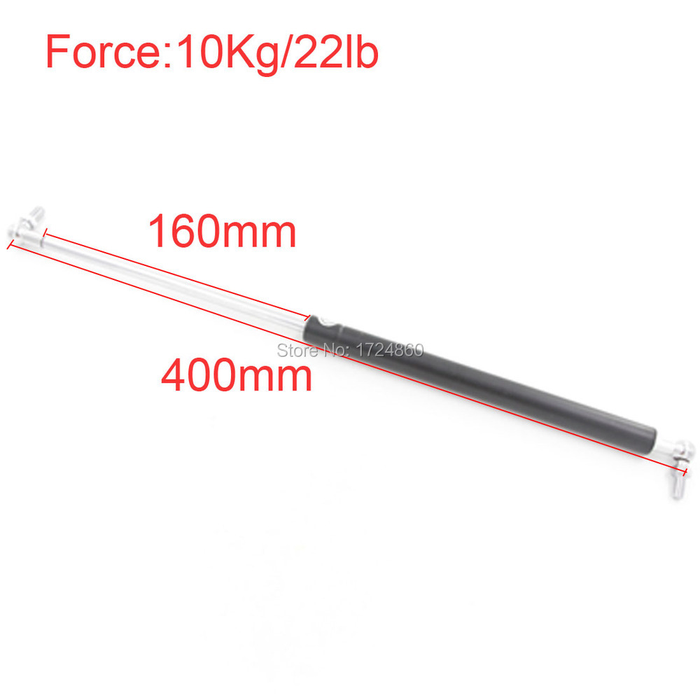 Best Quality 10KG/22lb Force 160mm Gas Spring 400mm Central Distance 2pcs on Sale pudcoco baby girls dress toddler girls backless lace bow princess dresses tutu party wedding birthday dress for girls easter