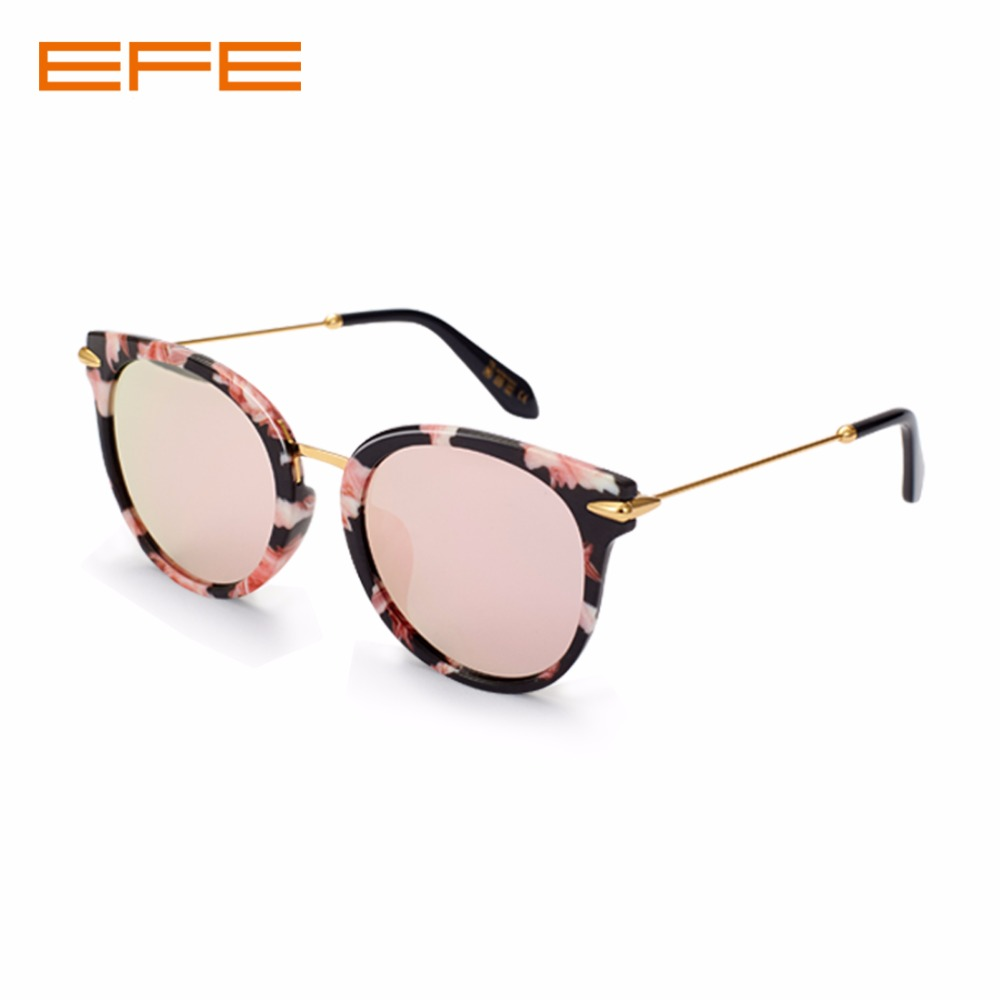 EFE Fashion Women Sunglasses Men Polarized Sunglasses Vintage Sun Glasses Oval Metal+TR90 Frame Luxury Brand Sunglass 58074