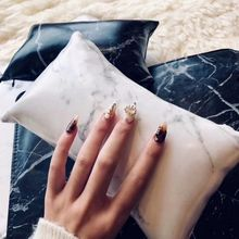 цена на Marble Pattern Nail Soft Hand Cushion Pillow & Nail Art Arm Rest Holder Pad Rest Manicure Cushion Pillow Nail Art Accessories