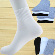 10 pairs Men s socks brand high quality polyester breathable Autumn winter casual sports sock for