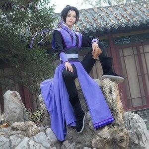 Image 5 - Anime Dao Mo To Shi Cosplay Wei Wuxian Jiang Cheng Costume Grandmaster of Demonic Cultivation Mo Dao Zu Shi Cosplay Costume Men