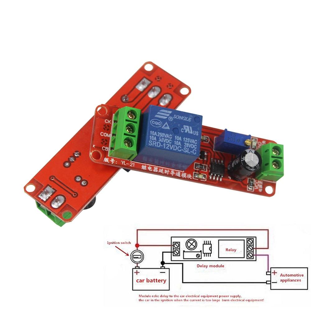 Smart Electronics 5v 30v Micro Usb Power Adjustable Delay Relay Trigger Timer Ne555 010s Module Dc 12v Shield Switchpriceusd 099