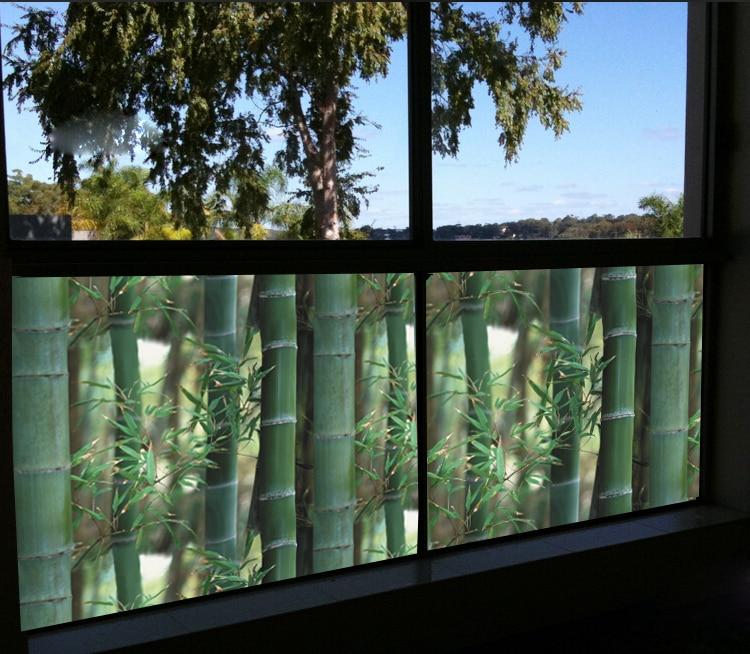 Home Decor Statique film Fabrication Artitic Verre Non Adhésif, statique S'accrochent, Multi-Taille Teinté Verre Fenêtre Film