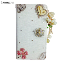 Bling Mobile Phone Cases For Iphone 4s 5s 6 6s 6plus Diamond Crystal Flip Leather Phone
