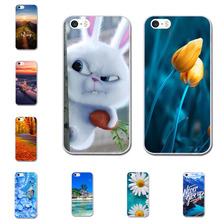 Case for iPhone 6 6s plus Phone Cases for iPhone X  7 / 7 Plus /8 8 plus  5 5s Cover Soft Silicone TPU Painted Capa