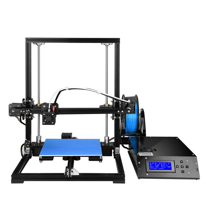 Infitary M608 3D Printer Large Printing Size Imprimante 3d High Precise 3d Printer Kit with 8GB SD Card & 3d Print PLA Filaments infitary m608 3d printer large printing size imprimante 3d high precise 3d printer kit with 8gb sd card