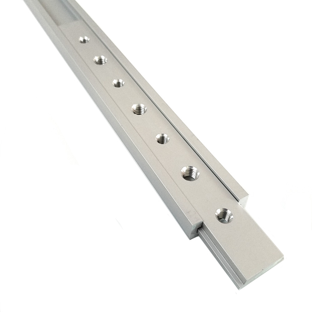 NEW M6 M8 200mm Slide Slab For T-slot T-track Miter Track Fixture Slot Woodworking Tool