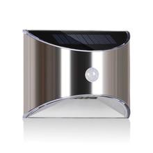 Solar Lichter Außen Motion sensor Nacht sicherheit Wand Lampe LED Wasserdicht Energiesparende Garten Front Tür Hof Dropshipping