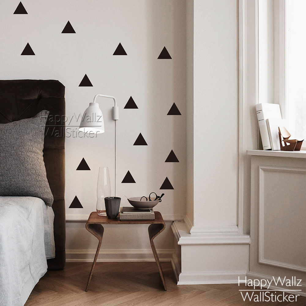 Triangle wall sticker home home decor for Baby room decoration wall stickers