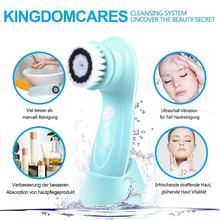 Facial Cleaning Cleaner Massager Vibration Waterproof Products Brush Removal Soft Skin Care New
