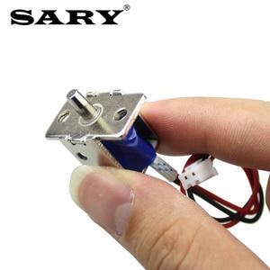 Image 3 - قفل كهربائي صغير DC12V0.5A مسمار كهربائي قفل أخفى قفل الباب الالكتروني التحكم في الوصول قفل كهربائي صغير
