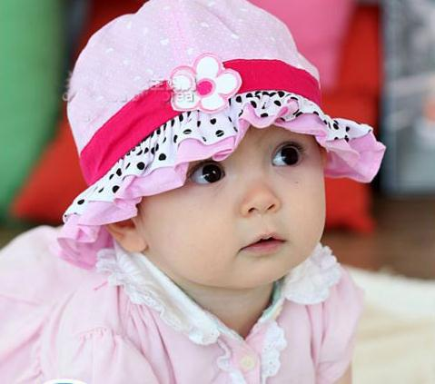 6b770fa378b97 Package mail basin of Korean version of children cap princess sun hat June 1  year old male and female baby baby hats 1pcs