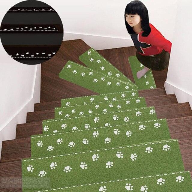 Conjuntos 5 Escada Esteiras Moda Passo Básico Não-Skid-Resistente Revestimento Protetor de Borracha