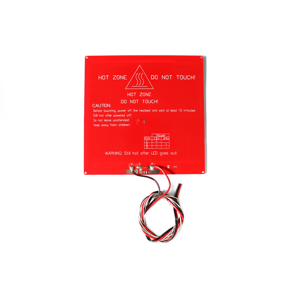 MK3 Heat Bed Latest Aluminum Heated Bed Dual Power 3D Printer MK3 Heating Bed Hot Bed With Cable