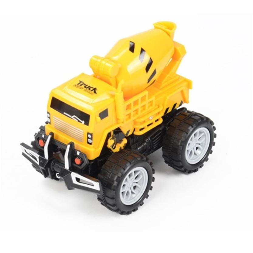 1:3 Funny Engineering Vehicle Model Wheel Plastic Diecast For Kids Car Toy D40
