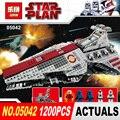 NUEVA LEPIN 05042 Star Wars 1200 unids La República Luchando Crucero Conjunto Modelo de bloques de Construcción Ladrillos Compatible 8039 de Juguete de Regalo
