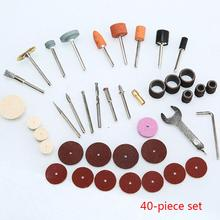 40Pcs Wood Metal Engraving Electric Rotary Tool Accessory fo
