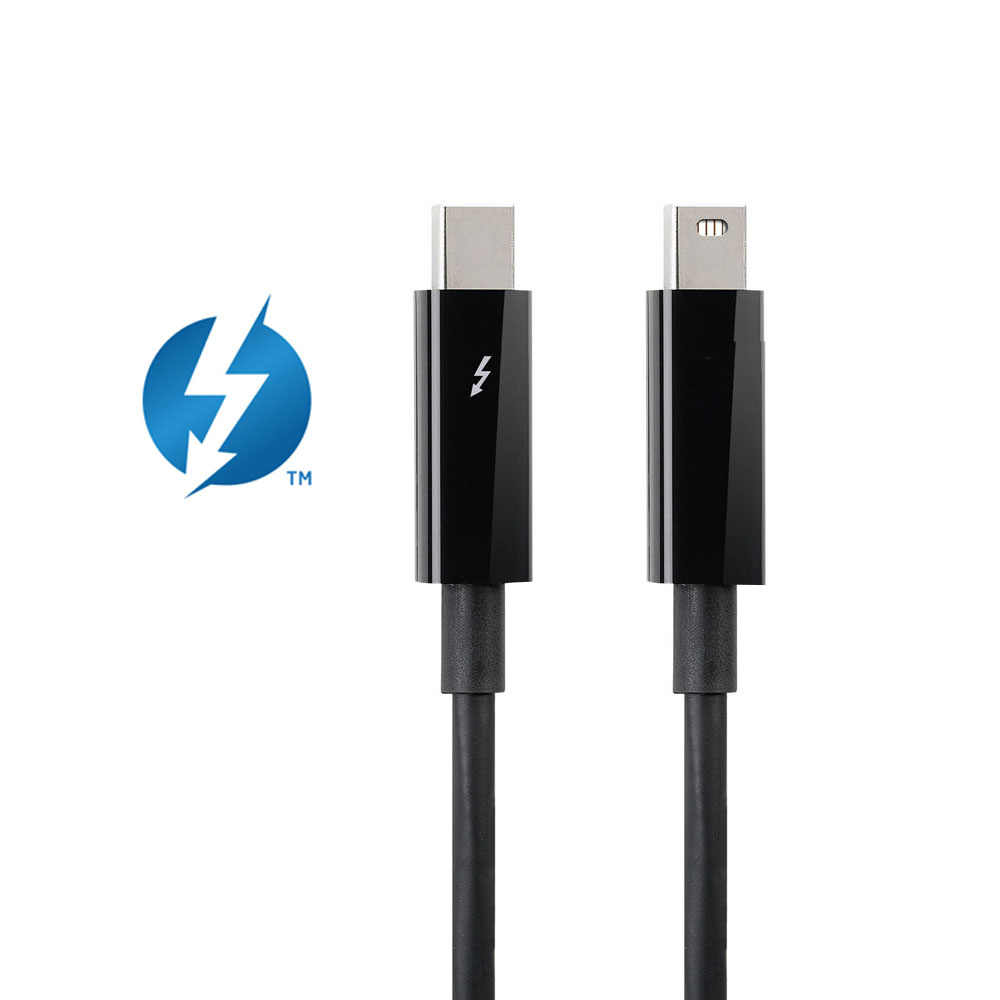 Thunderbolt 2 Cable 1M 3ft Data & video Male to Male Cable Cord for Apple Macbook Pro Air Mini (Thunderbolt 2 Port)